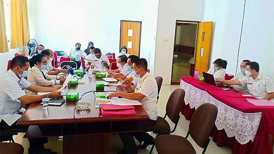 Implementasikan Penyederhanaan Birokrasi, Bagian Organisasi Gelar Rakor